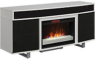 Classic Flame/Tresanti Enterprise 64-Inch White Media Fireplace