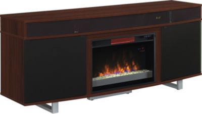 Classic Flame/Tresanti Enterprise 72 In Cherry Enter Fireplace