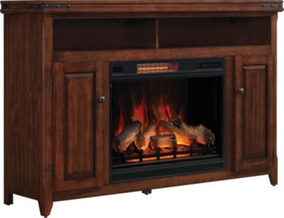 Classic Flame/Tresanti Mayfield Media Mantel Log Fireplace