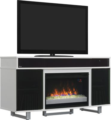 Classic Flame/Tresanti Enterprise 56-Inch White Fireplace