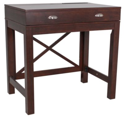 Classic Flame/Tresanti Amherst Compact Writing Desk