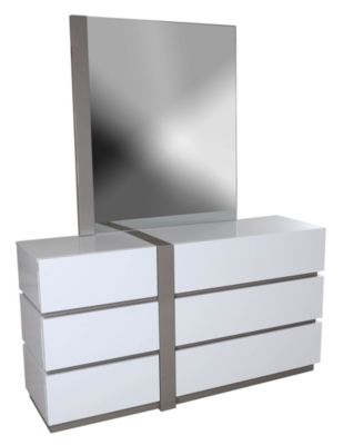 Chintaly Manila Dresser with Mirror