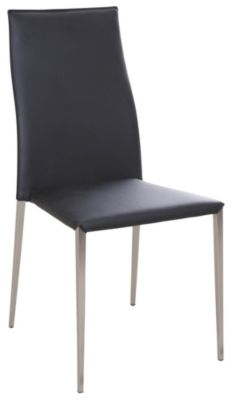 Chintaly Elsa Black Side Chair