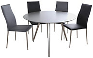 Chintaly Esther Table & 4 Elsa Chairs
