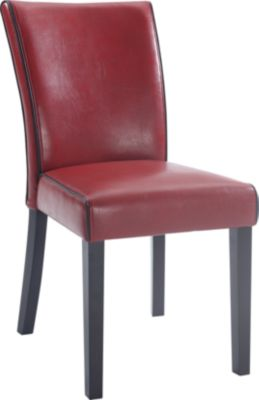 Chintaly Michelle Red Parsons Chair