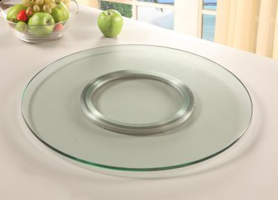 Chintaly Clear Round Lazy Susan