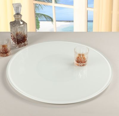 Chintaly White Lazy Susan