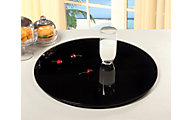 Chintaly Black Lazy Susan