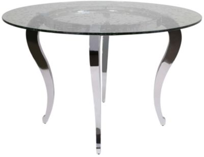 Chintaly Letty Glass Table