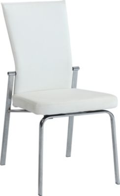 Chintaly Molly White Side Chair
