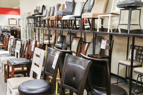 Clearance Center Dining Chairs and Counter Stools