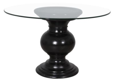 C.M.I. Serena Black Pedestal Table