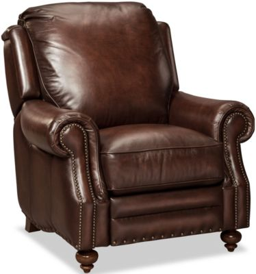 Craftmaster Corbin 100% Leather Recliner