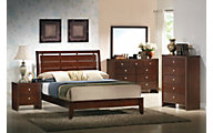 Crown Mark Evan 4-Piece Queen Bedroom Set