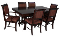 Crown Mark 7 Piece Merlot Dining Set