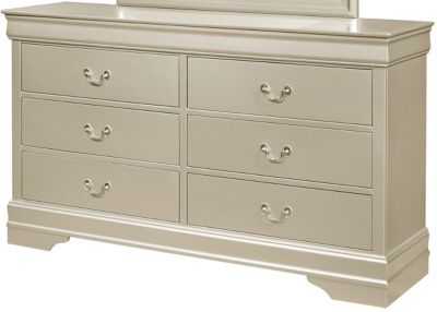 Crown Mark Louis Philippe Champagne Dresser