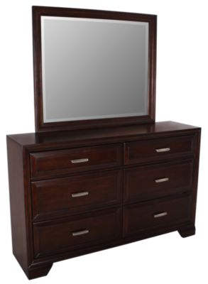 Crown Mark Jacob Dresser with Mirror