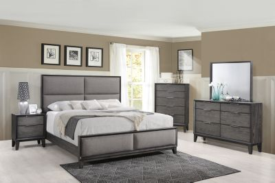 Crown Mark Florian 4-Piece King Bedroom Set
