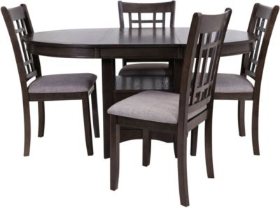 Crown Mark Hartwell 5-Piece Dining Set