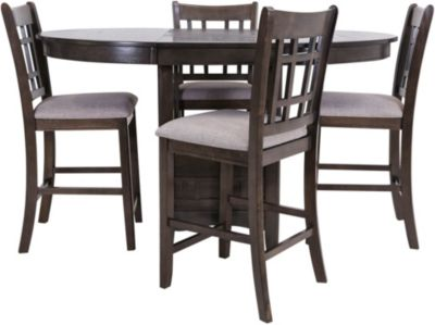 Crown Mark Hartwell 5-Piece Counter Set