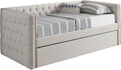 Crown Mark 5335 Collection Ivory Daybed