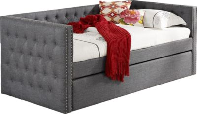 Crown Mark 5335 Collection Gray Daybed
