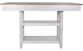 Crown Mark Nina White Counter Table