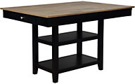 Crown Mark Nina Black Counter Table