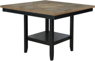 Crown Mark Fulton Black Counter Table