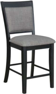 Crown Mark Fulton Black Counter Stool