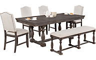 Crown Mark Regentco 6-Piece Dining Set