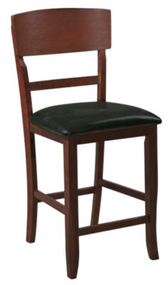 Crown Mark Conner Vinyl Seat Counter Stool