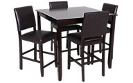 Crown Mark Derick Counter Table & 4 Stools