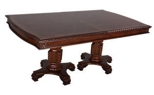 Crown Mark Neo Renaissance Dining Table