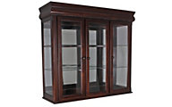 Crown Mark Merlot Hutch Top Only