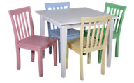 Coaster 5-Piece Kids Table and Chair Set