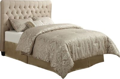 Coaster Chloe Full Cream Upholstered Headboard