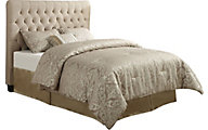 Coaster Chloe Twin Cream Upholstered Headboard