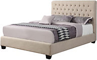 Coaster Chloe Full Cream Upholstered Bed
