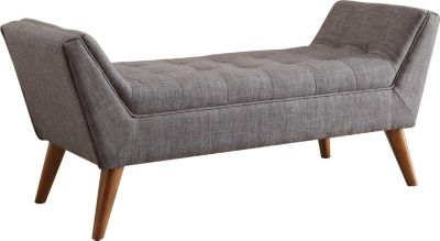 Coaster Gray Bed Bench