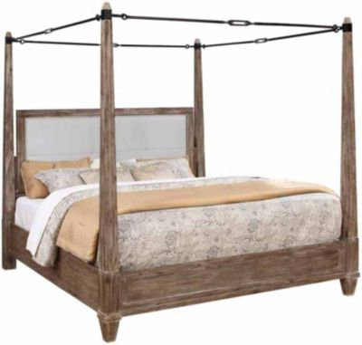 Coaster Madeleine Donny Osmond King Canopy Bed