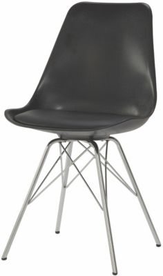Coaster Lowry Black Side Chair