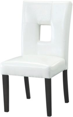 Coaster Bells White Side Chair