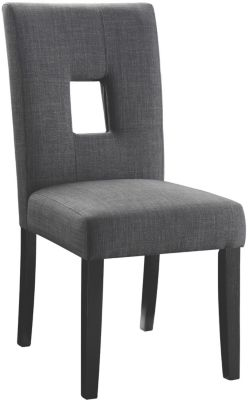 Coaster Bells Gray Side Chair