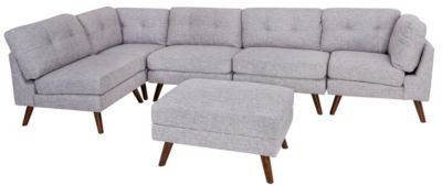 Coaster Churchill 6-Piece Modular Sectional