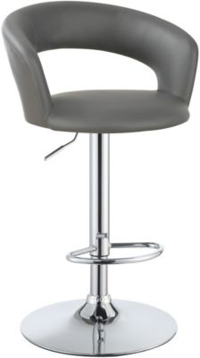 Coaster Everyday Gray Adjustable Barstool