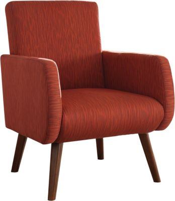 Coaster 902 Collection Orange Accent Chair