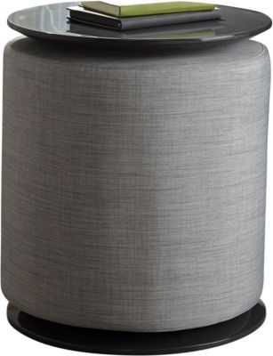 Coaster 930 Collection Gray Accent Ottoman/Table