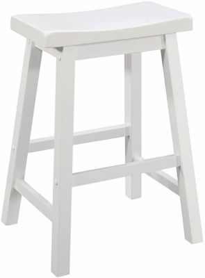 Coaster Everyday White Counter Stool