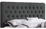 Coaster Chloe Queen Charcoal Upholstered Headboard